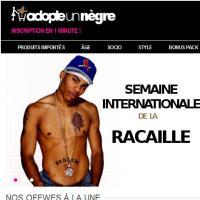 AdopteUnNègre : un faux site provoc' qui attaque AdopteUnMec...5 ans après son lancement