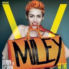 Miley Cyrus se déshabille et ose tout pour V
