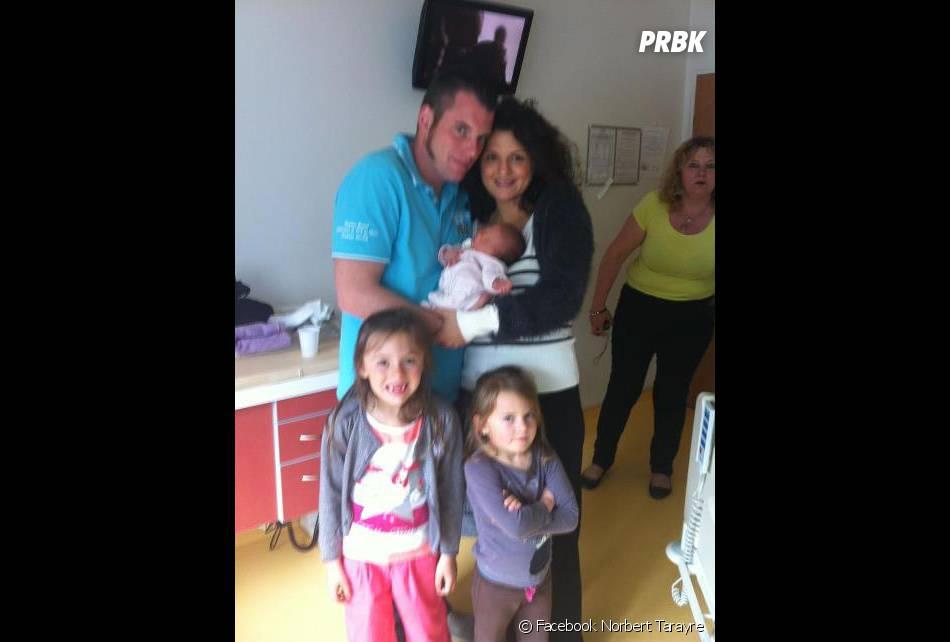 Norbert Tarayre et sa petite famille