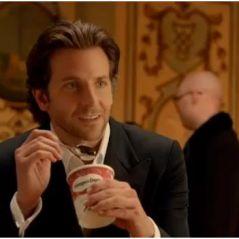Bradley Cooper moins fort qu'une glace dans la dernière pub Häagen-Dazs