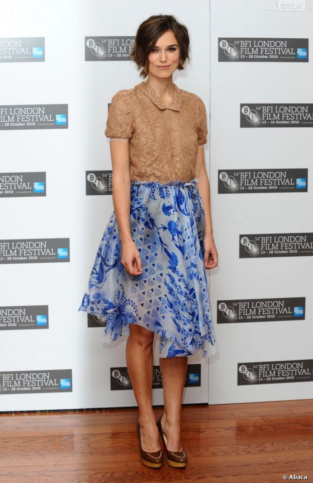 Keira Knightley a recyclé une robe pour son mariage