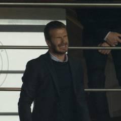 David Beckham (PSG) supporter n°1 des Parisiens aux côtés de ses fils