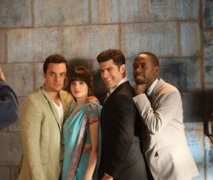Photo de groupe dans New Girl