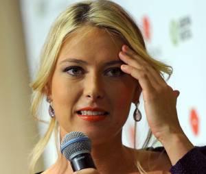 Maria Sharapova est une joueuse de tennis russe.