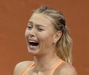 Maria Sharapova est numéro 2 mondial au tennis.