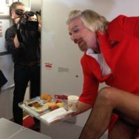 Richard Branson : le big boss de Virgin se transforme en femme