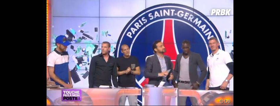 Cyril Hanouna reçoit les champions du PSG