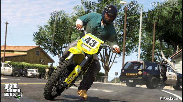GTA 5 dévoile 5 nouvelles images