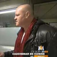 Philippe Etchebest (Cauchemar en cuisine) : Pétage de cable dans le restaurant d'Anne-Lise