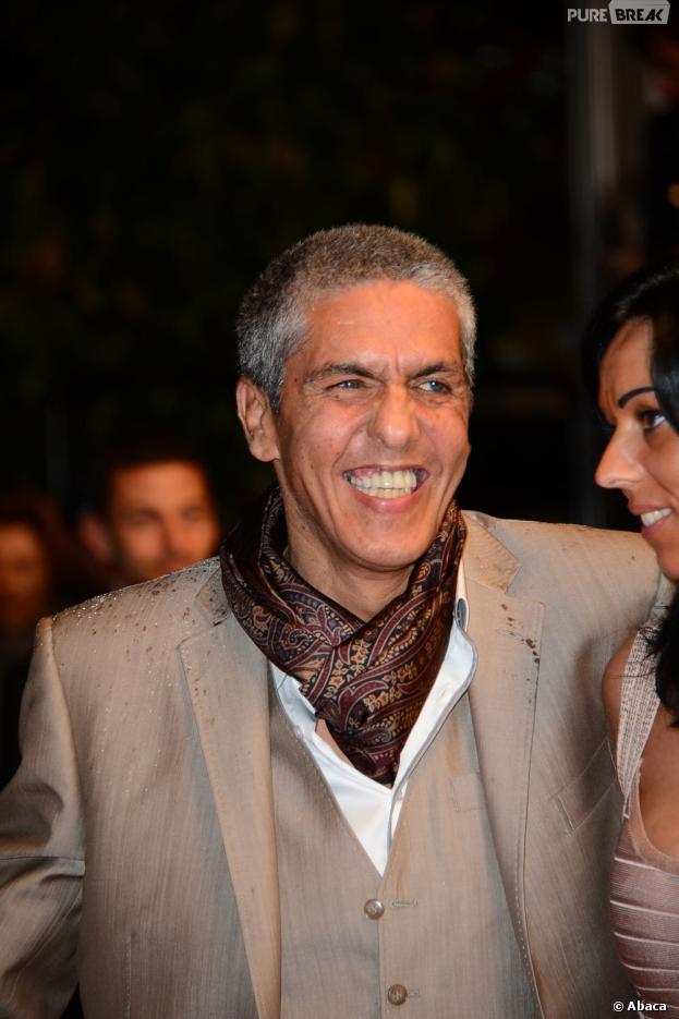 Samy Naceri au Festival de Cannes 2013 pour le film 'Tip Top' de Serge Bozon