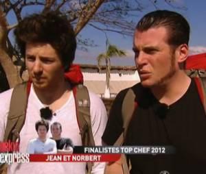 Norbert Tarayre et Jean Imbert ont participé à une étape de Pékin Express 2013.