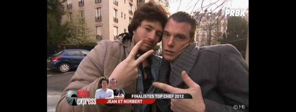 Jean Imbert et Norbert Tarayre, un duo formé lors de Top Chef 2012