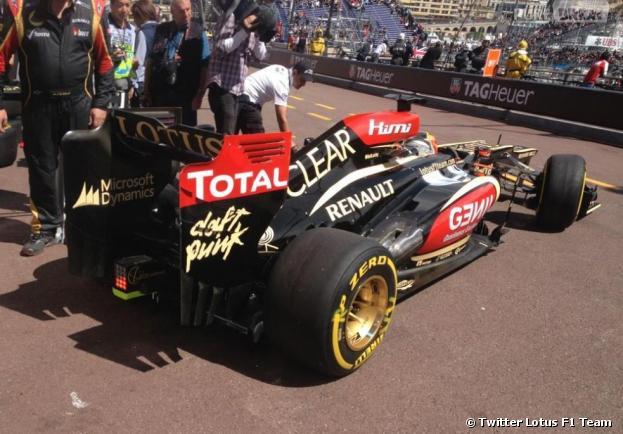 La team Lotus roulera aux couleurs des Daft Punk le 25 mai 2013 au Grand Prix de Monaco