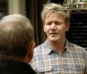 Gordon Ramsay ne se laisse pas faire mais Philippe Etchebest est plus sévère sur son adversaire.