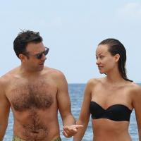 Olivia Wilde en bikini avec Jason Sudeikis, elle ne se cache pas