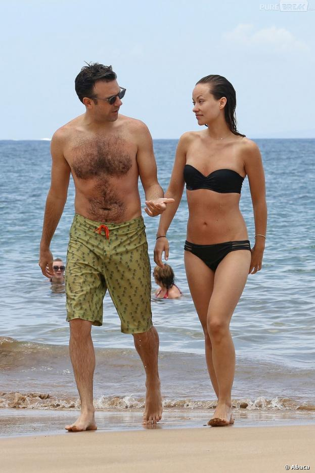 Olivia Wilde et Jason Sudeikis en vacances à Hawaii
