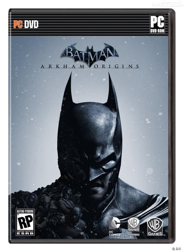 Une jaquette sombre pour Batman Arkham Origins