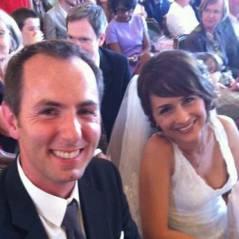 Jean-Philippe Doux (100% Mag) : mariage devant Faustine Bollaert, Estelle Denis et Raymond Domenech