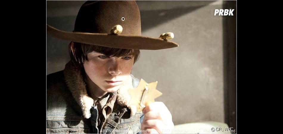 Carl de The Walking Dead se prend pour un petit chef, oubliant qu'il n'est qu'un pré-ado