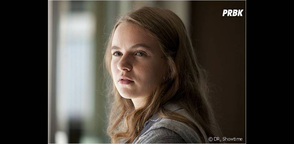 Dana de Homeland, une seule expression faciale pour un personnage inutile
