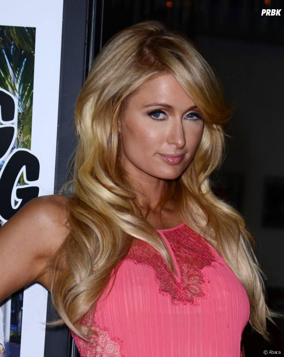 Paris Hilton très flashy pour l'avant-première de The Bling Ring, mardi 4 juin 2013 à Los Angeles