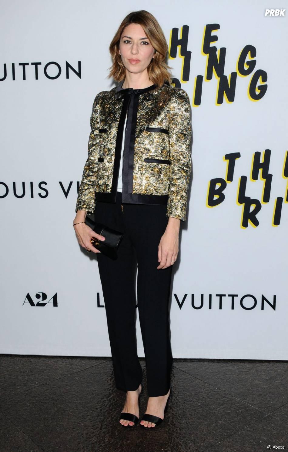 Sofia Coppola en solo à l'avant-première de The Bling Ring, mardi 4 juin 2013 à Los Angeles