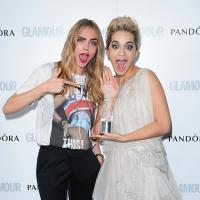 Cara Delevingne, Rita Ora, Victoria Beckham... : tapis rouge glam' pour la soirée Glamour