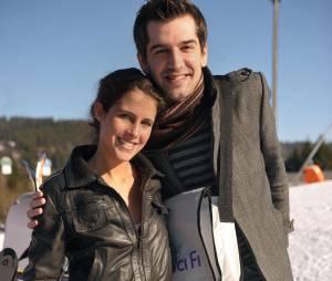 Mathieu Johan et Clémence Castel ont accueilli leur premier enfant en décembre 2012