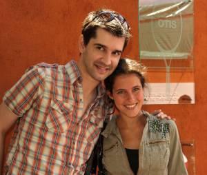 Mathieu Johan et Clémence Castel sont parents pour la première fois