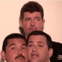 Robin Thicke ft Pharrell Williams : Blurred Lines, la parodie délirante signée Jimmy Kimmel