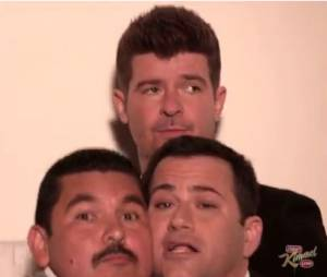 Blurred Lines de Robin Thicke, la parodie signée Jimmy Kimmel