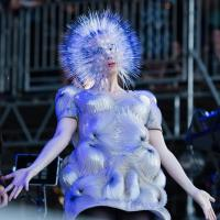 Björk : plus dingue que Lady Gaga ? Elle se déguise en oursin