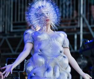 Björk se prend pour un oursin