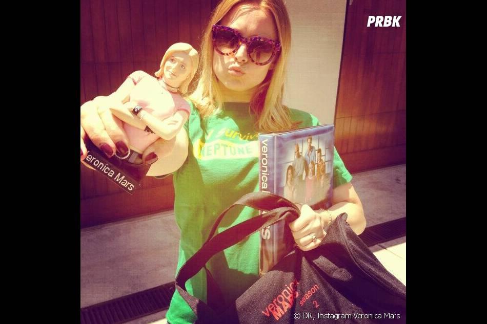 Veronica Mars : Kristen Bell sur le tournage du film