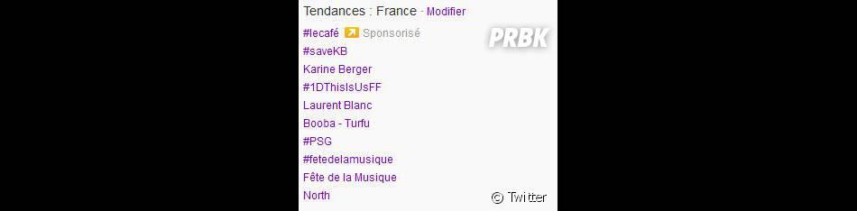 Karine Berger deux fois parmi les trending topics de Twitter