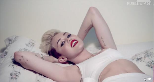 Miley Cyrus sexy dans le clip de We Can't Stop