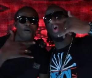 Big Ali feat. Corneille, Youssoupha et Acid dans le clip 'Coeur de guerrier'