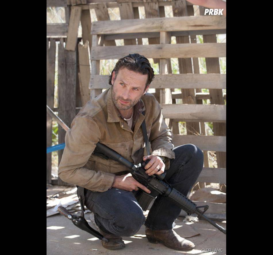 The Walking Dead : Andrew Lincoln donne sa technique pour éviter la dépression