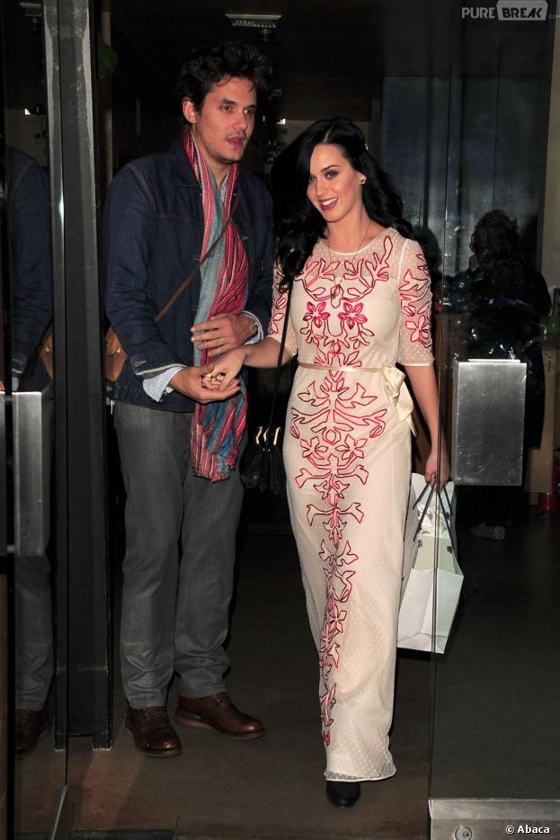 John Mayer et Katy Perry pendant un rendez-vous amoureux en février 2013