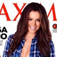 Alyssa Milano : l'ex-star de Charmed sexy et topless pour Maxim