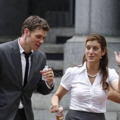 Kate Walsh face à Joseph Morgan sur le tournage de Dermaphoria