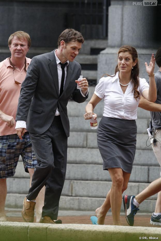 Kate Walsh et Joseph Morgan réunis sur le tournage du film Dermaphoria
