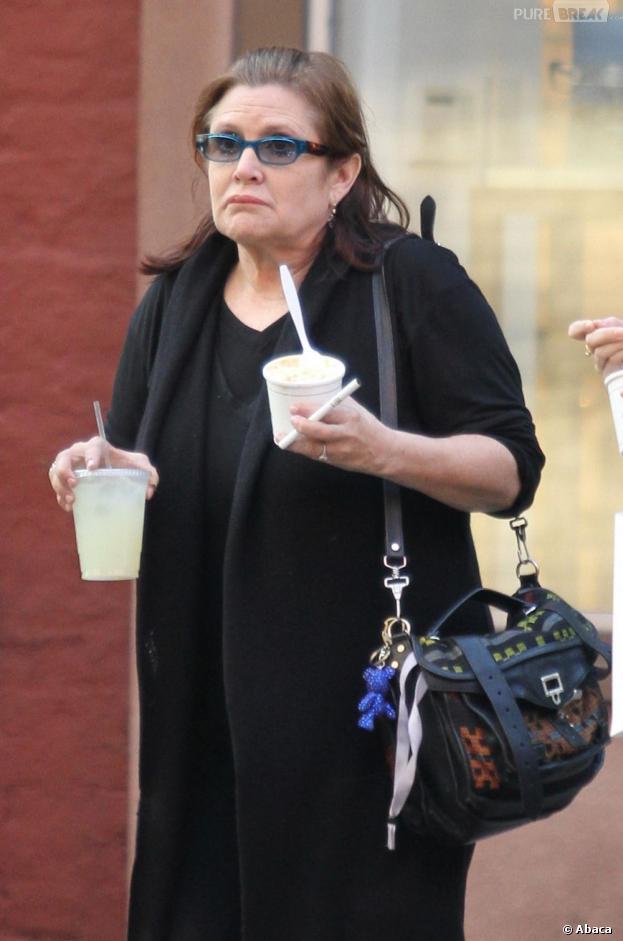 Star Wars 7 : Carrie Fisher va devoir faire un régime