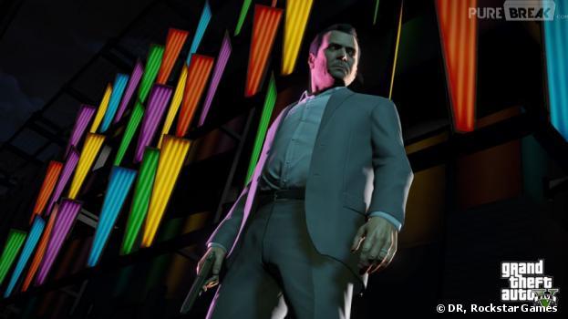 Michael, l'un des trois protagonistes de GTA 5
