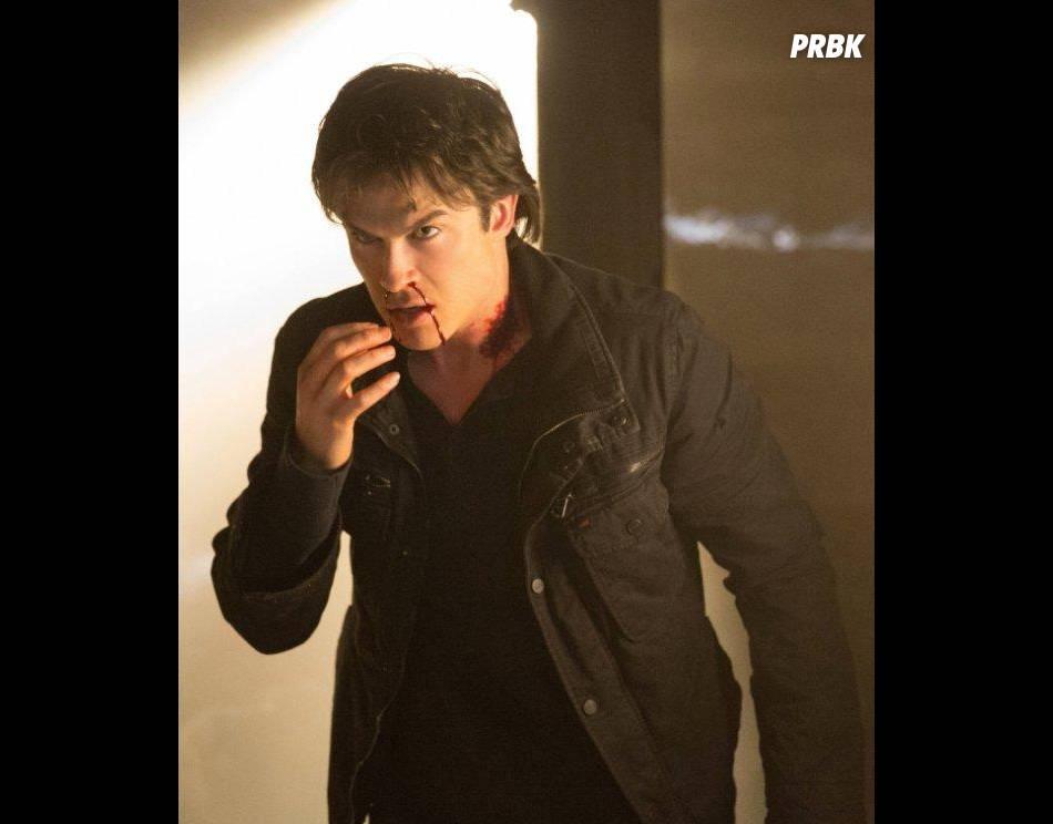Ian Somerhalder interprète Damon dans Vampire Diaries