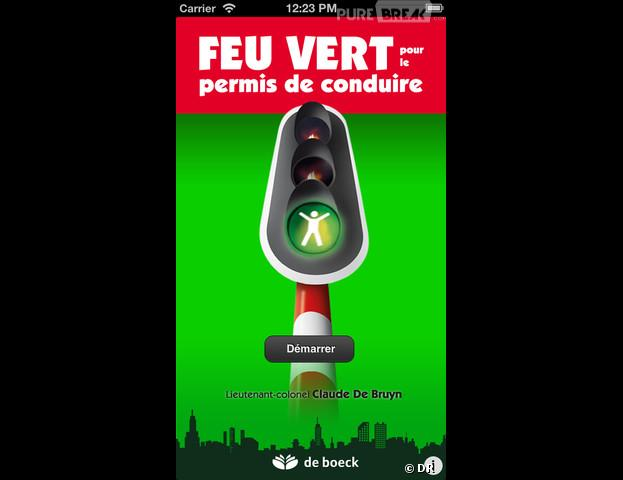 Feu Vert : l'application iPhone pour s'entraîner au Code de la Route