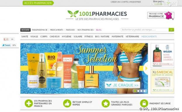 Les pharmacies en ligne autorisées depuis ce vendredi 12 juillet