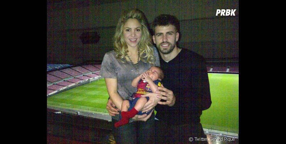 Shakira et Gérard Piqué dévoilent Milan dès qu'ils le peuvent