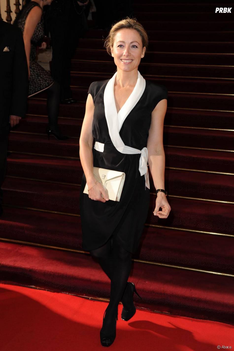 6 N' On >> Anne-Sophie Lapix : la chaîne cryptée n'aurait pas accepté qu'elle fasse la promo de France 5 ...