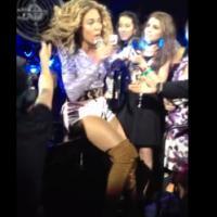Beyoncé : ses cheveux coincés dans un ventilo en plein concert